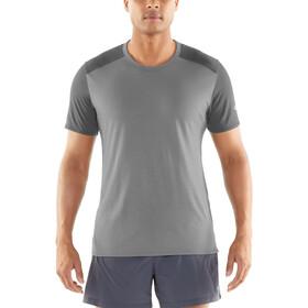 Icebreaker Amplify Koszulka do biegania z krótkim rękawem Mężczyźni brązowy